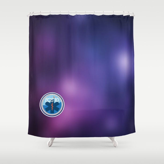 EOS 10 Alliance Medical Shower Curtain By Eos10