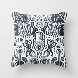 Folklore Pattern 2 Throw Pillow