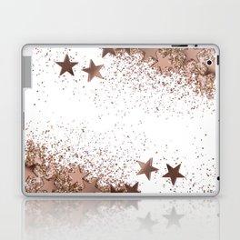 SHAKY STARS ROSEGOLD Laptop & iPad Skin