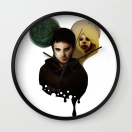 the Master & the BadWolf Wall Clock