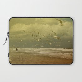 Terns in the Clouds Laptop Sleeve