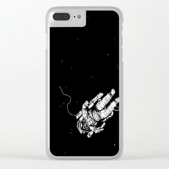Lost in Eternity Clear iPhone Case