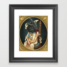 Where Did That Little Voice Lead You Framed Art Print