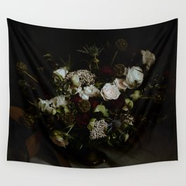 Floral Bouquet - Rembrandt Style Wall Tapestry