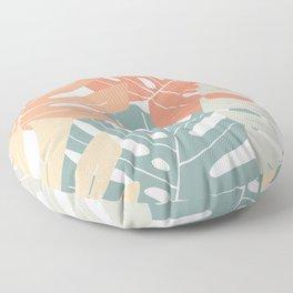Monstera deliciosa Floor Pillow