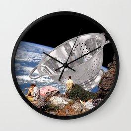 Space Junk Wall Clock