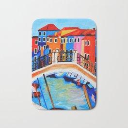 Colors of Venice Italy Bath Mat