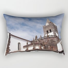Cathedral of Our Lady of the Assumption in Funchal Madeira Rectangular Pillow
