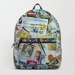 Postage Stamp Collection Backpack