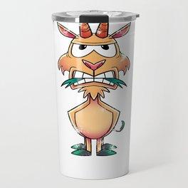 Goat Hangry Funny Travel Mug