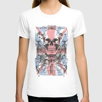 uk T-shirts featuring UK skull by Tshirt-Factory