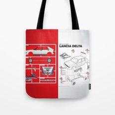 Lancia Delta History Model Kit in the WRC Tote Bag