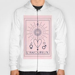 L'Amoureux or The Lovers Hoody