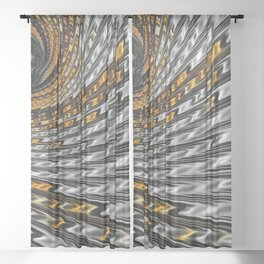 Twist and Shout Sheer Curtain