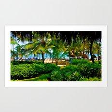 Dreams Punta Cana Art Print