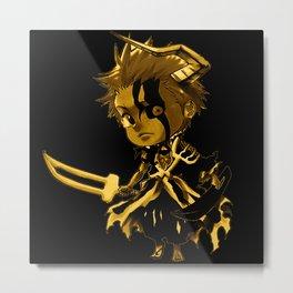 Chibi ichigo Hollow Mask Metal Print