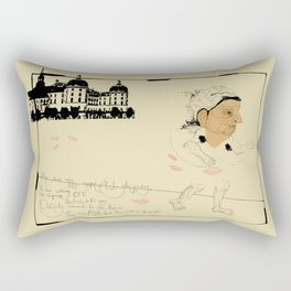 The Emperor's New Clothes Rectangular Pillow