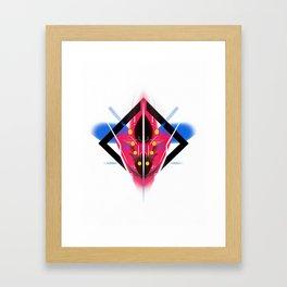 KUMADORI 01 Framed Art Print