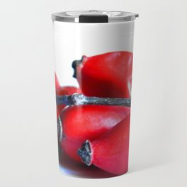 Rose Hip Berries Travel Mug