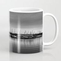 boats Mugs featuring Boats by Sofleecori