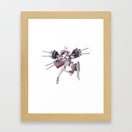 Kantai Collection - Bismarck Framed Art Print