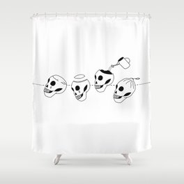 When life gives you lemons Shower Curtain