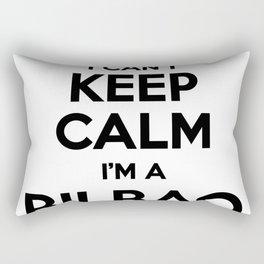 I cant keep calm I am a BILBAO Rectangular Pillow