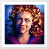 river song Art Prints featuring River Song by Alice X. Zhang