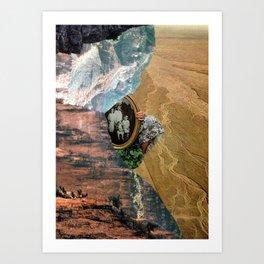 To be seen Art Print