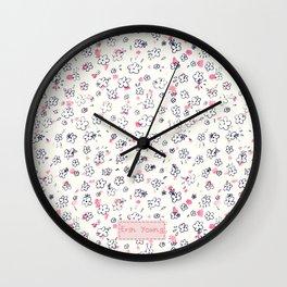 Primrosie Wall Clock