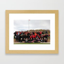 teamwork Framed Art Print