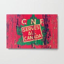 Canadian National Railway Metal Print