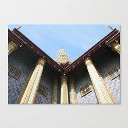Emerald Budha Canvas Print