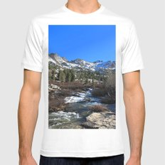 Lamoille Canyon MEDIUM Mens Fitted Tee White