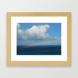 Kapalua Rainbow Framed Art Print