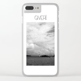Giver Baddeck! Clear iPhone Case