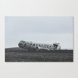 Sólheimasandur Plane Wreck, Iceland Canvas Print