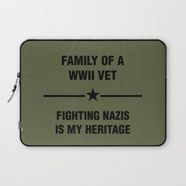 WWII Family Heritage Laptop Sleeve
