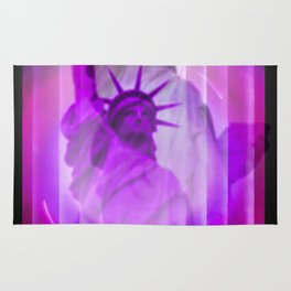 New York Statue of Liberty Rug