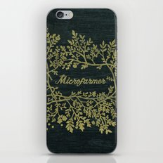 Microfarmer - Gold iPhone & iPod Skin