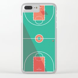 Playground Basketball Clear iPhone Case