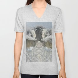 Explosive Clouds Unisex V-Neck