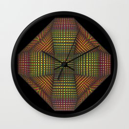 Positive Being Wall Clock