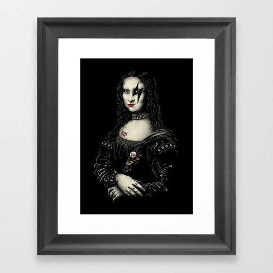 Renaissance Rocks Framed Art Print
