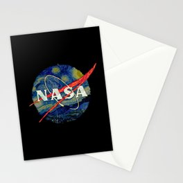 Nasa Starry Night Stationery Cards