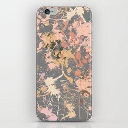 Skin Tones - Liquid Makeup Foundation - on Gray iPhone Skin