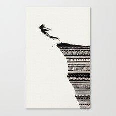 Cliff Diver Canvas Print