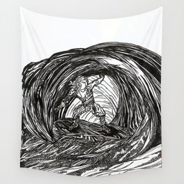 Wave Rider Wall Tapestry