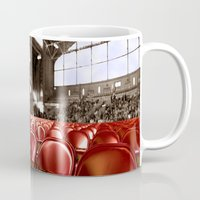 gym Mugs featuring A Gym audience by Brown Eyed Lady