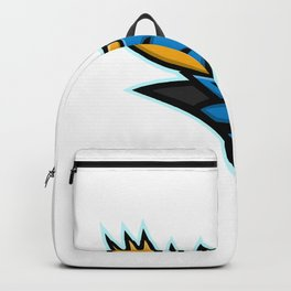 Bull Moose Head Mascot Backpack